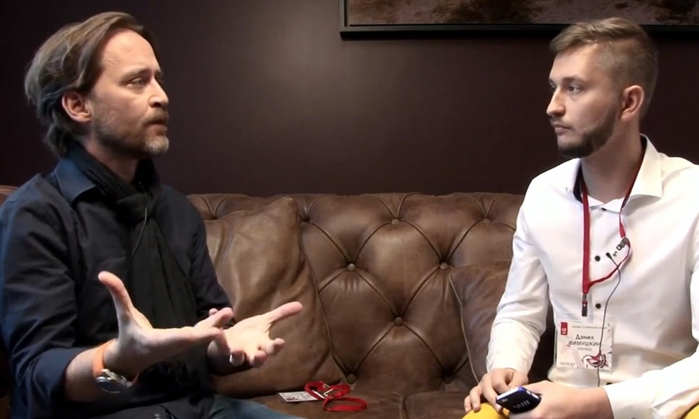Руфус Дойчлер - дизайнер и евангелист компании Adobe