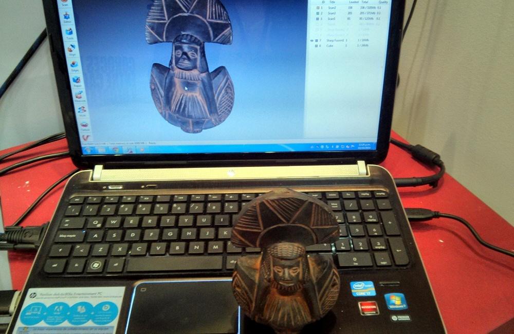 Быстрое 3D сканирование