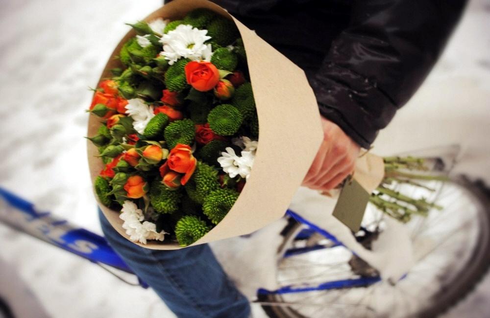 Доставка цветочных букетов