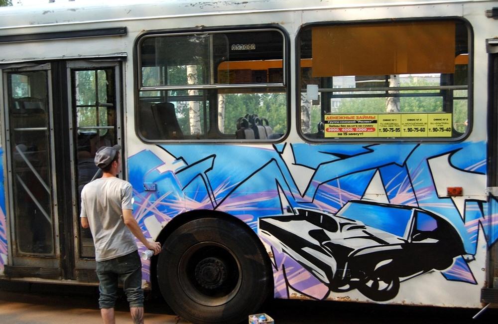 Заработок на граффити