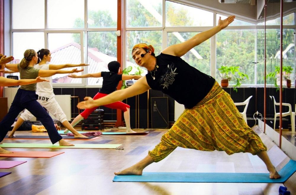 Открытие студии йоги