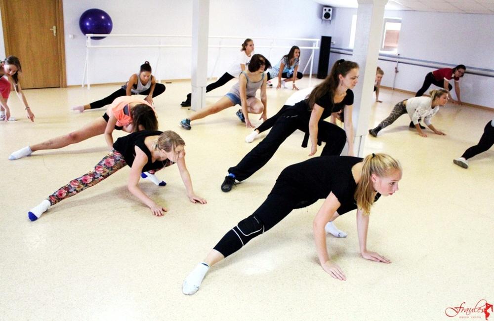 Открытие танцевальной школы