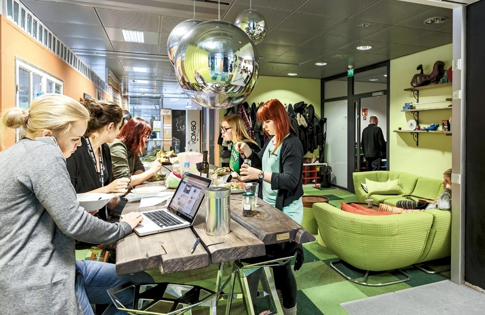 Офисы современных компаний
