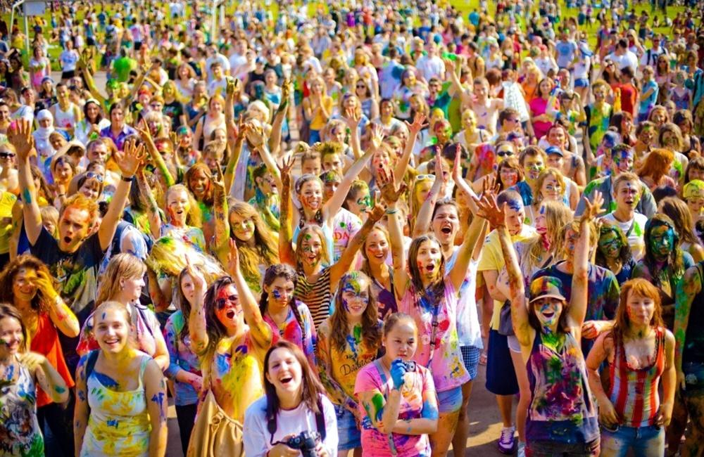 Питерский фестиваль красок