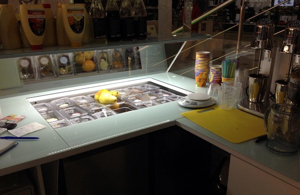 Производство замороженного йогурта