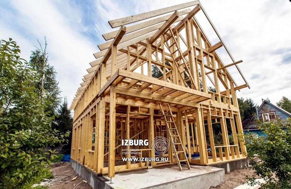 Строительство и продажа каркасных домов