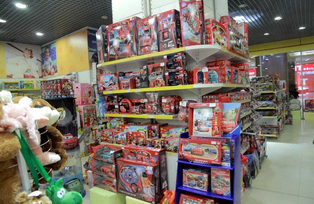 Торговля детскими товарами