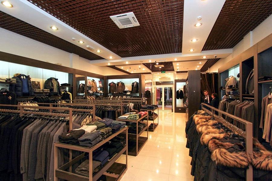 Торговля мужской одеждой