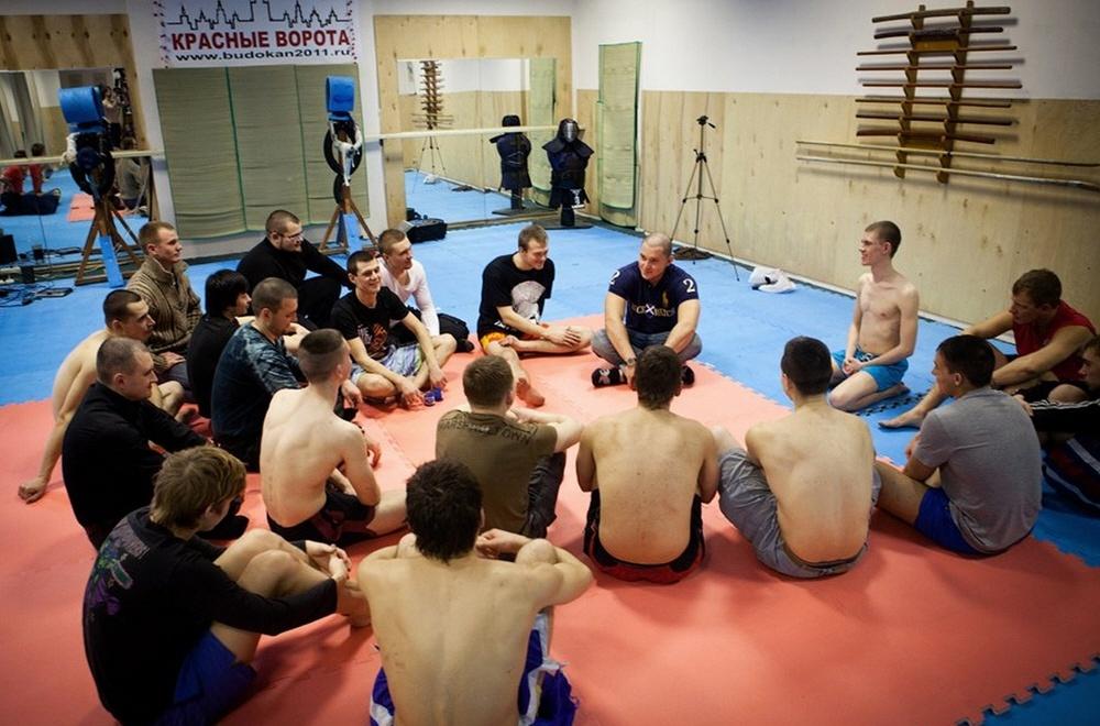 Тренировка мужских качеств